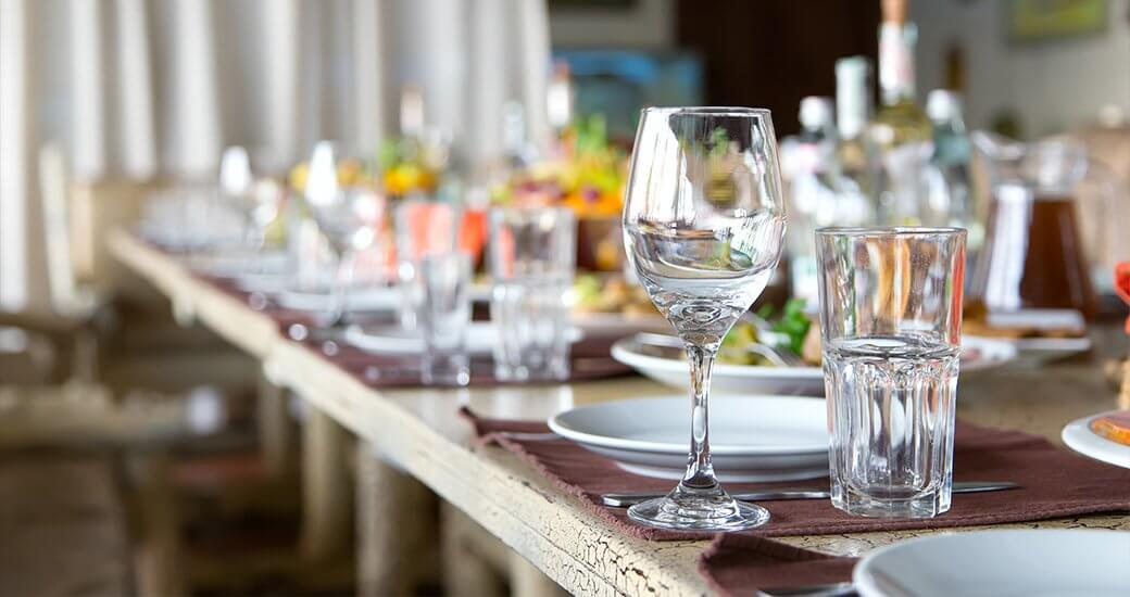creative bridal shower catering